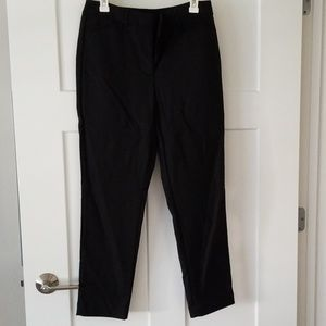 Slim Ankle Black Dress Pants